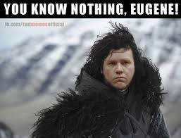 You Know Nothing Meme - the walking dead eugene memes of the walking dead the walking