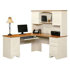 Sauder Office Desk Executive Desk Set Sauder Harbor View Computer Armoire White