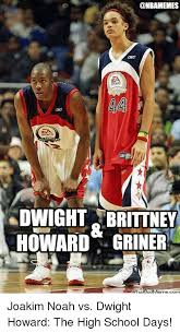 Dwight Howard Meme - fa ports dwight brittney howard griner joakim noah vs dwight
