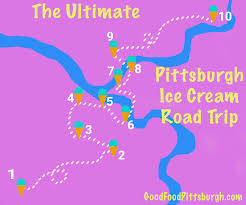 Pittsburgh Neighborhood Map How To Take The Ultimate Pittsburgh Ice Cream Road Trip