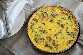 Quiche Blind Bake Or Not Cremini Mushroom U0026 Arugula Quiche U2014 Captured From Scratch