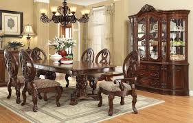 Von Furniture Rovledo Formal Dining Room Set With Pedestal Table - Formal dining room