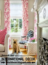Colorful Patterned Curtains Patterned Curtains Living Room Home Design Plan
