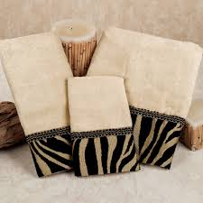 Zebra Bathroom Ideas Zuma Zebra Decorative Towel Set Decorative Towels Towels And House