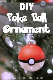 diy poke ornament of a