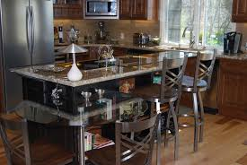 Kitchen Island With Table Extension by Kitchen Remodels Custom Cabinetry