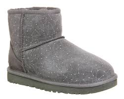 ugg boots in sale at office lyst ugg mini constellation boots in gray
