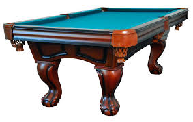non slate pool table new slate pool table pool table in antique walnut with ball claw leg