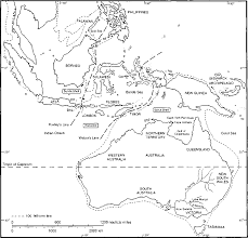Map Of Se Asia by The Early Environment