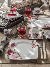 thanksgiving dinnerware tableware porcelain dinner sophisticated table table settings table set