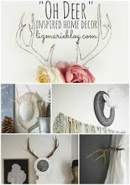 deer home decor oh deer deer inspired home decor liz marie blog