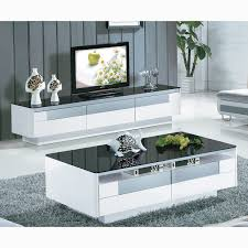 modern mirrored coffee table for living room eva furniture