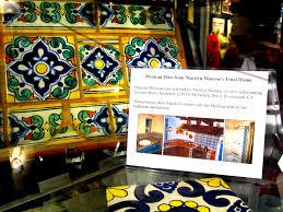 Monroe S House Tiles From Marilyn U0027s Brentwood House 1962 Mm Houses Belongings