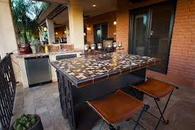 Outdoor Cabinets And Countertops Exterior Remodel Tucson Az
