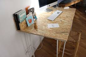 un bureau osb handmade très simple à réaliser nordic style and