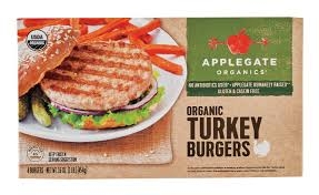 applegate organic turkey burgers shop dinner at heb