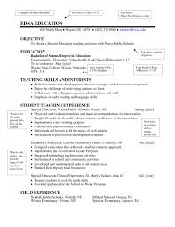 Examples Of Resumes For Teachers by Good Looking Teaching Resume Samples Inspiration Decoration
