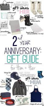 2 year anniversary gift ideas 2nd wedding anniversary gift ideas for him and diy playbook