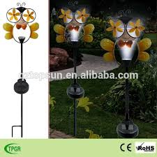 Ladybug Solar Garden Lights - metal bee stakes metal bee stakes suppliers and manufacturers at