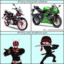 Meme Ninja - galeri meme kocak pengendara ninja meme kocak pengendara ninja