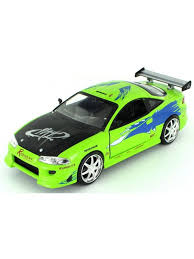 mitsubishi eclipse fast and furious mitsubishi eclipse the fast the furious 1 24