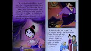 Disney Scary Storybook Collection Disney Mulan Disney Story Book