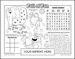 coloring placemats 40 best kids placemats images on children kids menu