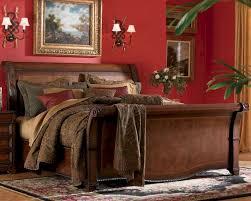 Sleigh Bedroom Furniture Aspen Bedroom Furniture Sleigh Bed Napa As74 400