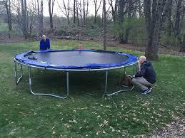 trampoline raising loved beyond all measure