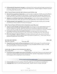 Senior Financial Analyst Sample Resume by Philip Chang Cga Resume For Financial Analyst Position 1