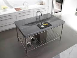 stainless steel countertop with sink sink countertop combo prevost construction inc