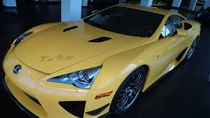 lexus lfa build your own nearly four years after the lexus lfa u0027s production ended in late