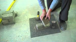 How To Cut Patio Pavers Without A Saw How To Cut A Brick Youtube