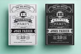27 birthday invitation templates free psd ai vector eps