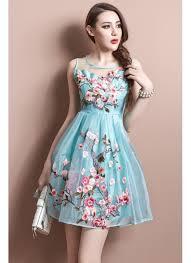 dress designer buy new cyan blue tissue designer western dress in india at