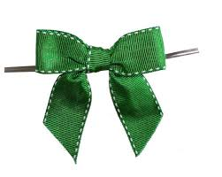 decorative ribbon bow tie for wedding with grosgrain tie