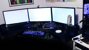 Corner Gaming Desk by Ultimate Gaming Setup 2013 Youtube