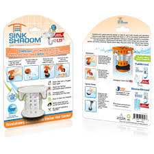 amazon com sinkshroom the revolutionary sink drain protector hair