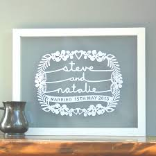 wedding gift personalised notonthehighstreet personalised wedding gift lading for