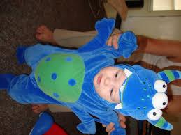 Blue Monster Halloween Costume Little Baby Lump Pregnancy And Baby Blog Halloween