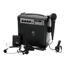 Radio Microphone Talk And Music About Pa Systems