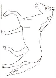 coloriage d u0027un cheval dessin tête à modeler