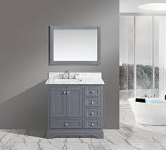 36 Inch Bathroom Sink Top Amazon Com Urbanfurnishing Net Jocelyn 36 Inch 36