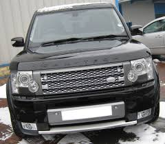 land rover lr3 supercharged style front grille silver grey land rover discovery 3