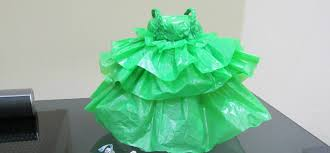 how to make doll dress with plastic bag youtube