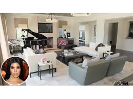 Living And Dining Room Kourtney Kardashian Take A Peak Inside Her Living And Dining Rooms