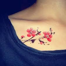 50 cute examples of cherry blossom tattoos tattoo tatoos and tatoo