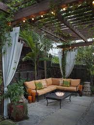 design and decorate backyard with small backyard ideas in unique