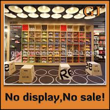 Decorate Shoes High Quality Shop Fixture Shoes Shop Display Showcase For Shoe
