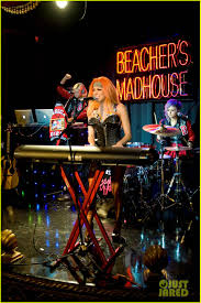 bonnie mckee performs at just jared halloween party 2013 photo